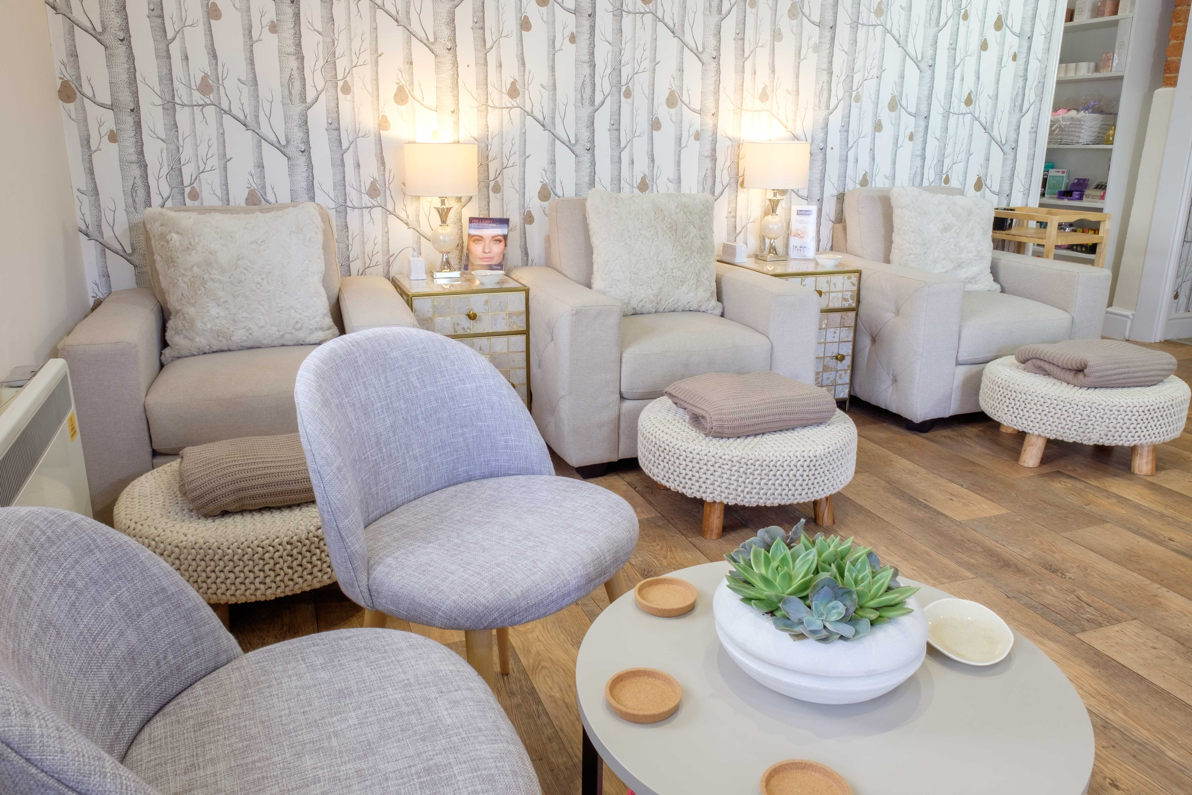 The Relaxing Pedicure Chairs at Revive Beauty Lamport Manor